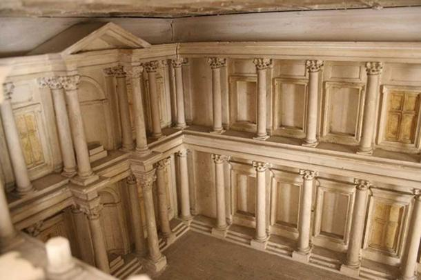 Reconstruction of the inside of the Roman Ulpian library. (Cassius Ahenobarbus/CC BY SA 3.0)