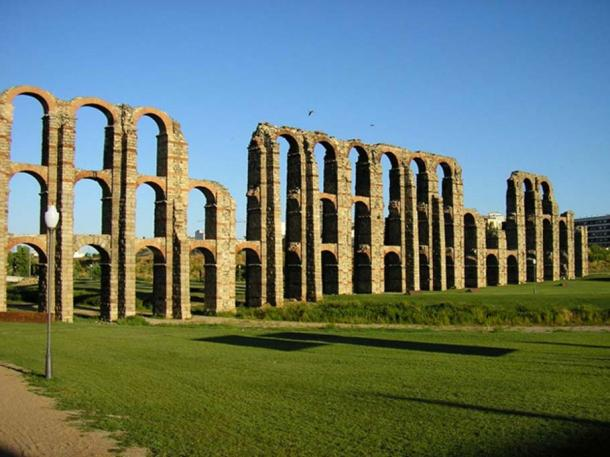 Roman aqueducts from Emerita Augusta.