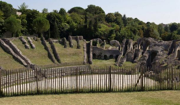 The Roman arena in Saintes, France