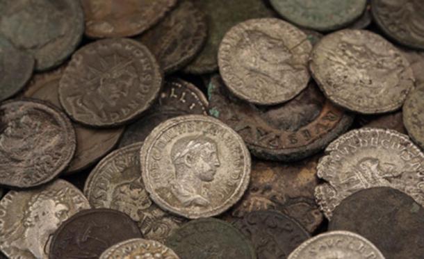 Roman coins. (Manuel Gross /Adobe Stock)