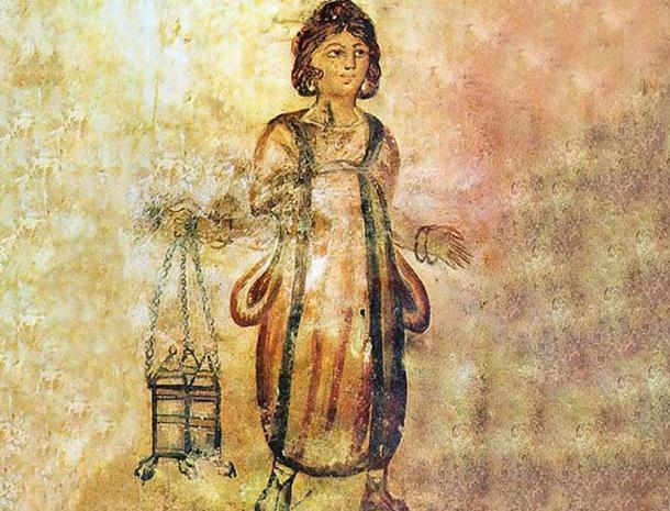 Slave ownership was an integral part of Roman domestic life, often appearing in villa decorations (Mary Harrsch / CC BY-NC-SA 2.0)