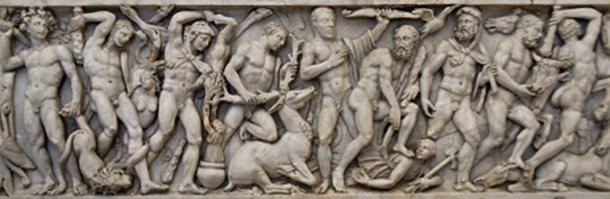 Roman relief depicting the sequence of the labors of Hercules. (Jastrow / Public Domain)