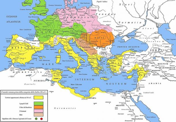 The Roman republic and its neighbors.