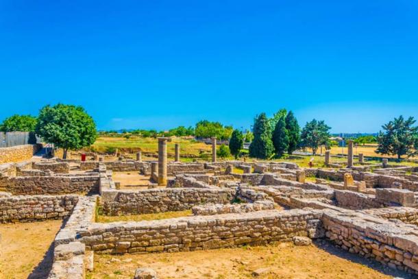 Roman ruins of Pollentia, Mallorca, Spain (dudlajzov / Fotolia)