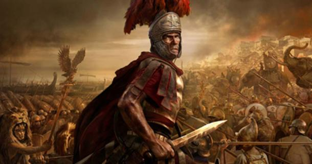 Roman soldier (wallpaperup.com)