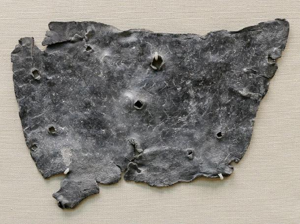 Roman curse tablet. (Jastrow / Public Domain)