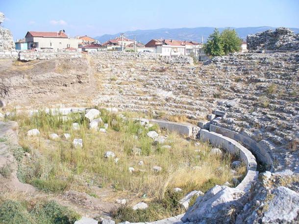 Roman theater in Nicaea (Iznik).
