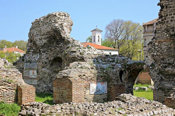 Roman thermae ruins in Varna, Bulgaria. Representational image.