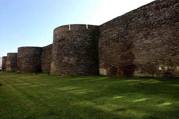 Roman walls of Lugo.