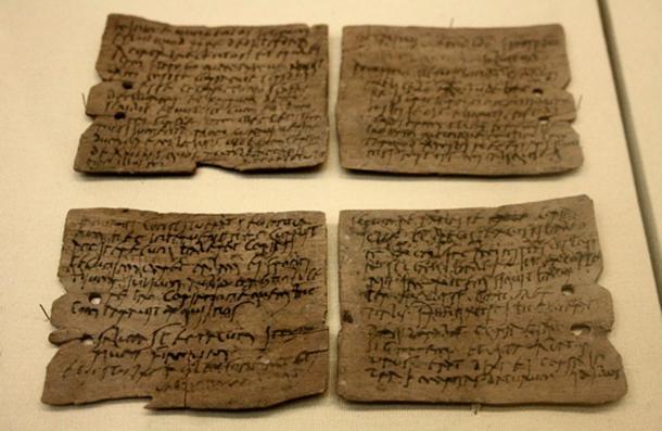 Roman writing tablets, 1st – 2nd century AD