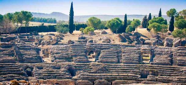 The Roman ruins of Italica, Spain: Rome's first settlement in Hispania and probably the finest Roman ruins, in many ways, in all of Spain. (rusty elliott / Adobe Stock)