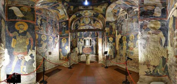 In his early years Romanos IV Diogenes was the duke of Serdica (modern-day Sophia, Bulgaria) and he likely visited this famous church, Boyana Church, more than once. (Interact-Bulgaria / CC BY-SA 4.0)