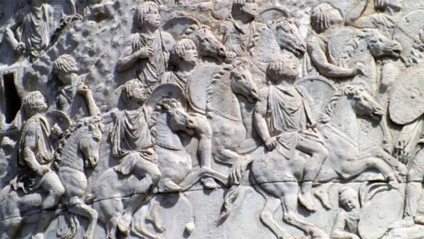 The ancient Romans quashed the Kingdom of Numidia, by reducing it over time to a shadow of its former greatness. The image shows the Numidian cavalry on Trajan's Column in Rome. Source: JJ's Wargames