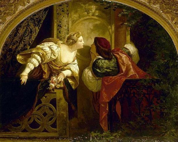 'Romeo and Juliet' by Henri-Pierr Picou.