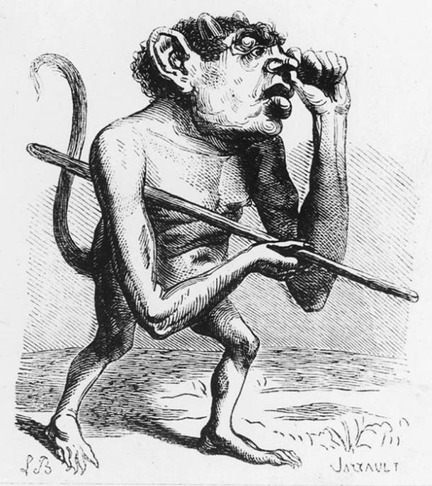 Ronwe as depicted in the Dictionnaire Infernal