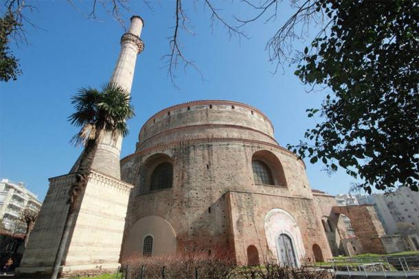 Rotunda of Galerius with minaret, Thessaloniki, Greece (William Richardson/ Adobe Stock)