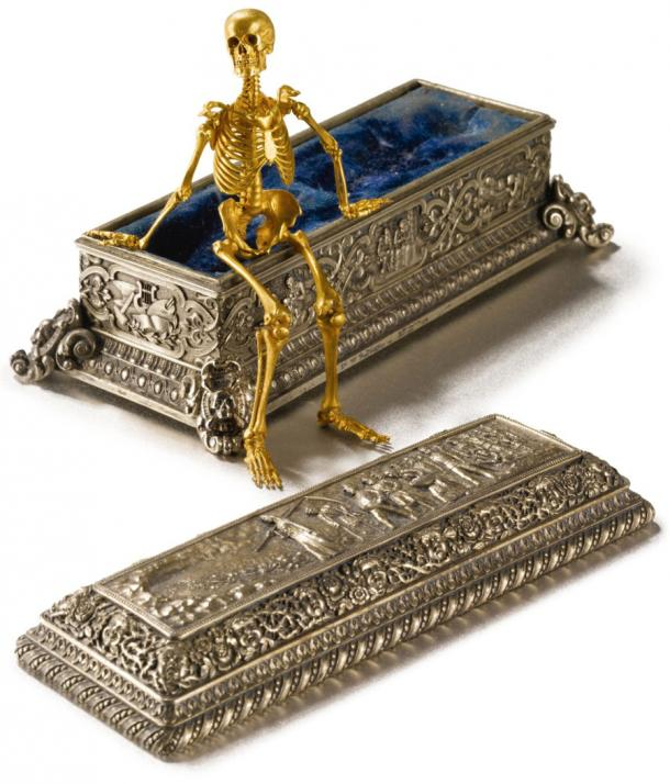 Rouchomovsky's exceptional Coffin with a Skeleton work that is celebrated, even today.