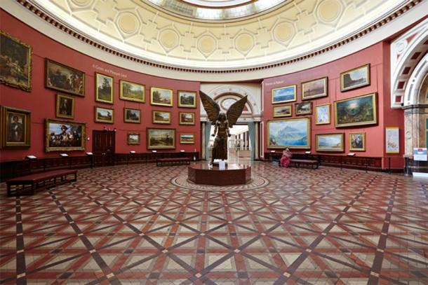 The Round Room, which can be seen on the virtual museum tour online. (Birmingham Museum and Art Gallery / CC BY-NC-SA 2.0)
