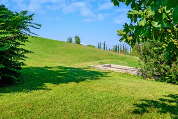 Royal Tombs of Aigai, Macedonia, Greece. (Andrei Nekrassov / Adobe Stock)