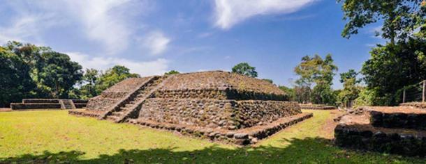 Ruins at Izapa, Chiapas, Mexico.