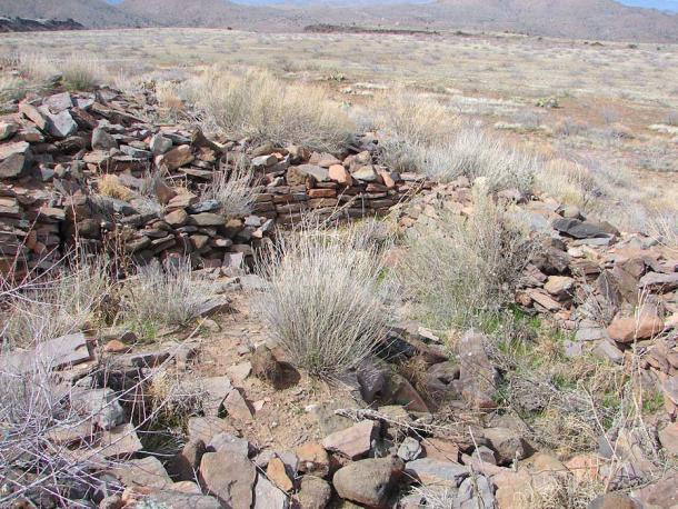 Ruins at La Plaza, Ancient Settlement of the Hohokam people