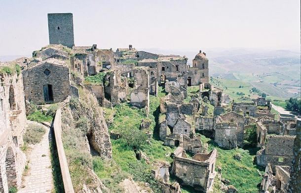 Ruins of Craco, Itlay