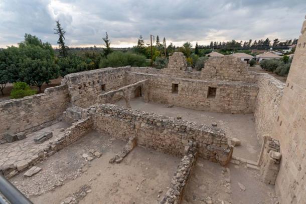 Ruins of Kolossi Castle.