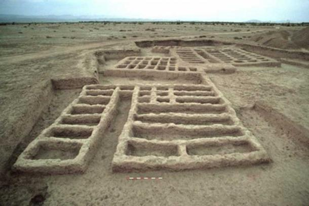 Ruins of Mehrgarh. (M. Thoury et al./CC BY 4.0)
