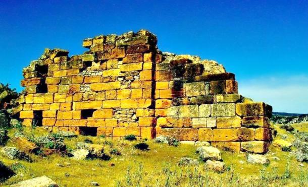 Ruins of Tripoli, a city of the ancient kingdom of Phrygia located in what is now Turkey.