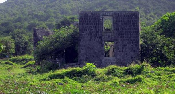Ruins of the Eden Browne Estate.