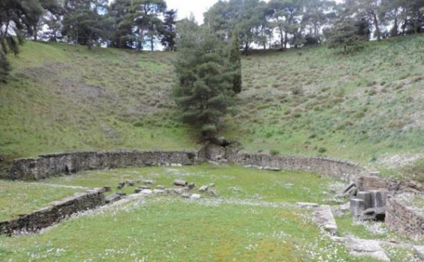 Ruins of the Mytilene theater