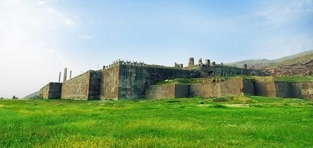 Ruins of the Palace of Artaxerxes I, Persepolis