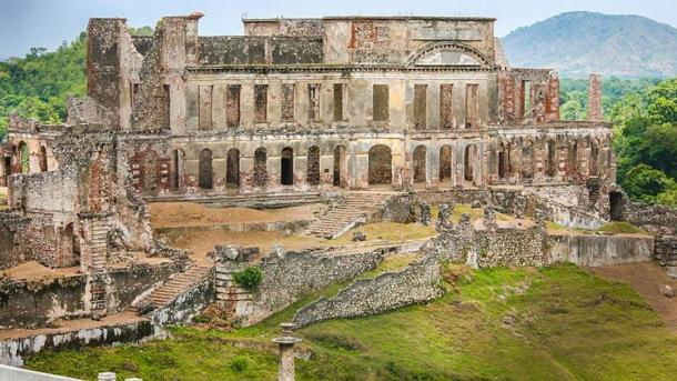 Ruins of the Palace of Sans-Souci, Milot, Haiti