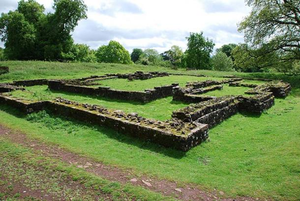 Ruins of the Temple of Nodens at Lydney Park