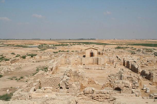 Ruins of the ancient monastery at Abu Mena.