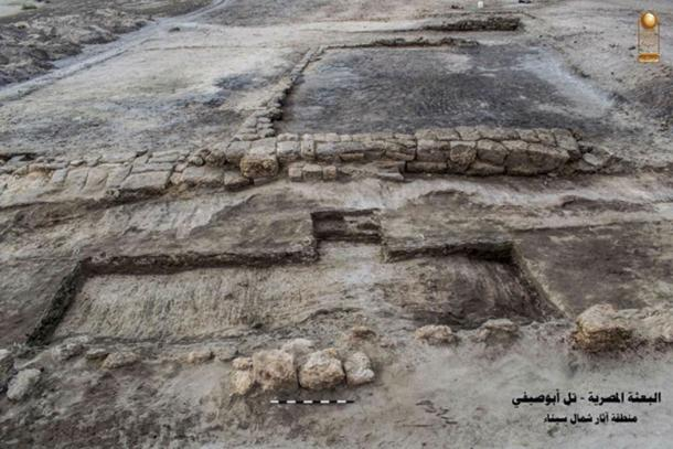 Ruins of the dockyard. (Ministry of Antiquities)