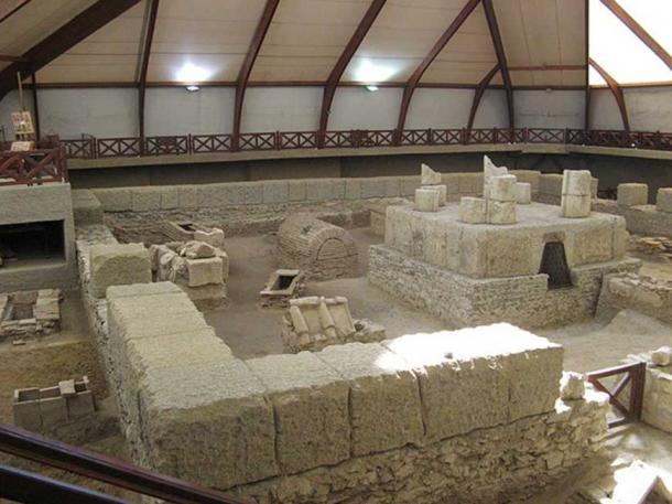Ruins of the mausoleum at Viminacium. (CC BY SA 3.0)