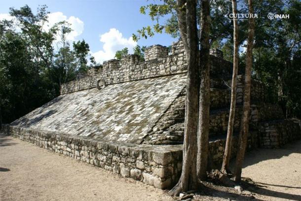 Part of the Cobá ruins in Quintana Roo, Mexico. (Mauricio Marat/ INAH)