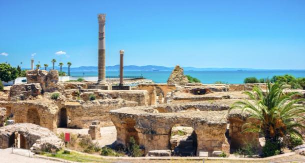Ruins of ancient Carthage in modern day Tunisia. (Valery Bareta / Adobe stock)