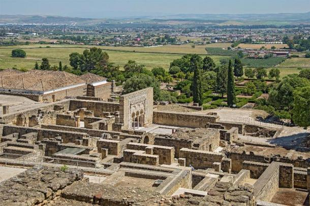 Ruins of Medina Azahara - vast, fortified Andalus palace-city built by Abd-ar-Rahman III, the first Umayyad Caliph of Córdoba. (Pavel Kirichenko/Adobe Stock)