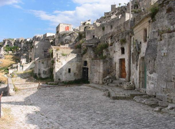 The Sassi and the Park of the Rupestrian Churches of Matera