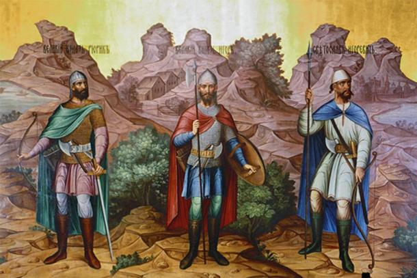 The first Rurikids during the rise of the Kievan Rus' (Братья Белоусовы / Public domain)