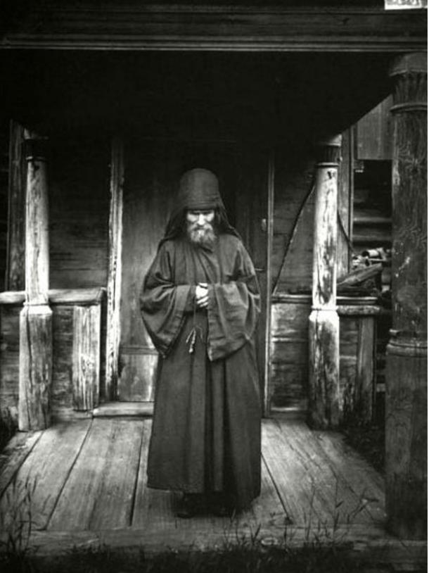 Russian Monk-Ascetic, 1897.