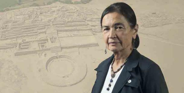 The eminent Peruvian archaeologist Ruth Shady who has been threatened over her attempts to protect the Caral-Chupacigarro site. (Zona Caral)