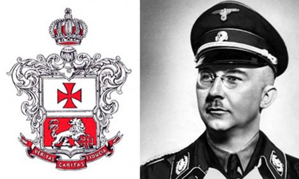 SS Nazi chief Heinrich Himmler took about 6,000 books from the Norwegian Order of Freemasons as part of his research into witch hunts.