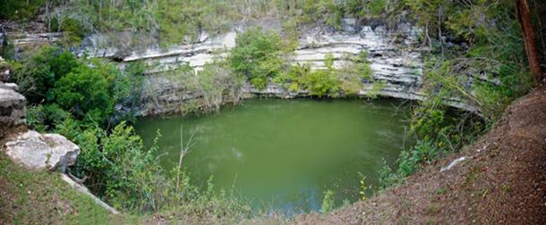 The Sacred Cenote at Chichen Itza