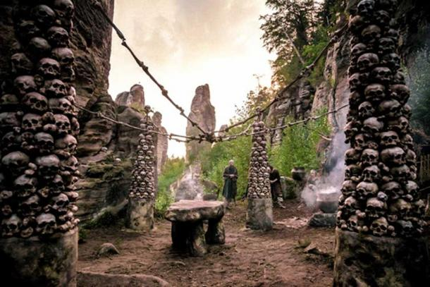 Sacred site. (Sky Atlantic)