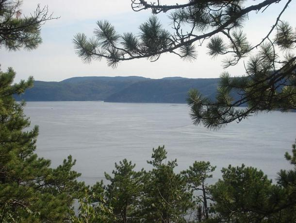 The Saguenay Fjord in Quebec