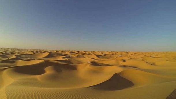The Sahara Desert was not always as it appears today.