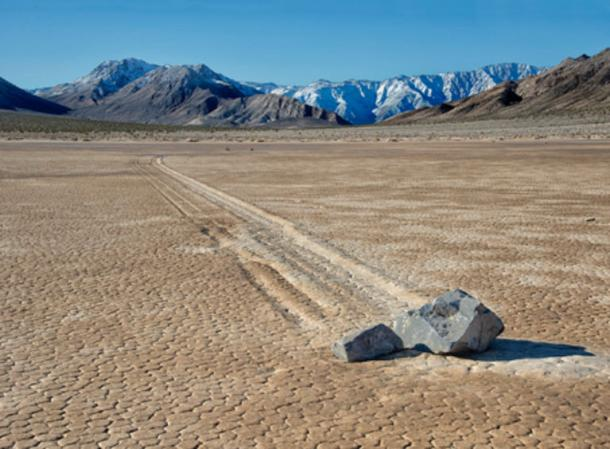 Sailing Stones at the Racetrack Playa.